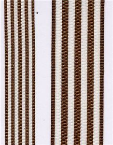 Fresh Stripe Ribbon - Brown