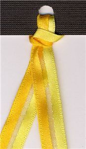 Tri Stripe Ribbon - Sunshine
