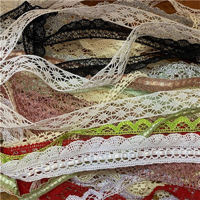 Scrap Bags of Lace