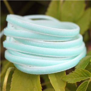 3mm Velvet Ribbon - Aqua