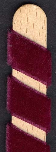 Velvet Ribbon - Bordeaux