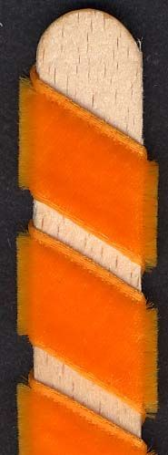 Velvet Ribbon - Orange