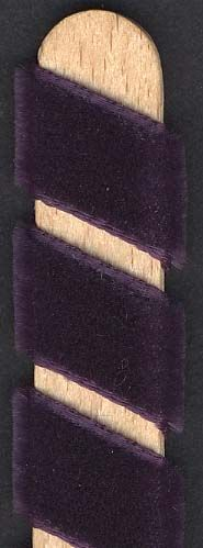 Velvet Ribbon - Plum