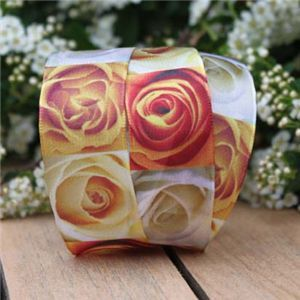 Wedding Ribbon - Rose Blocks