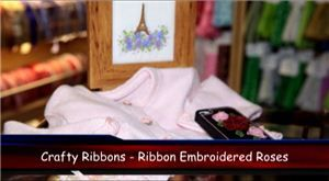 Embroidery Ribbon Roses Video