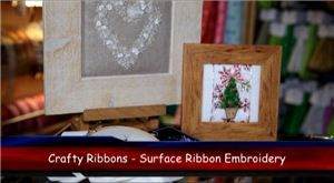 Surface Ribbon Embroidery Video